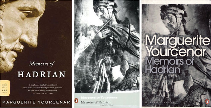 Memoirs of Hadrian covers